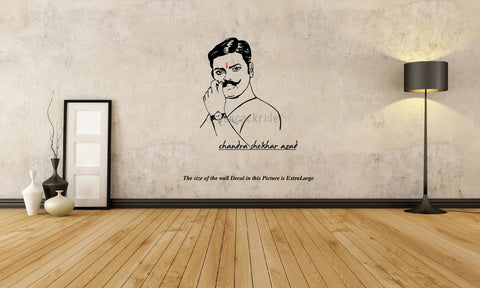 Chandra Shekhar Azad ,Wall Decal