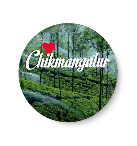 Love chikmangalur Fridge Magnet