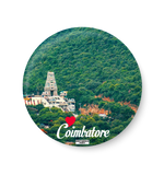 Love Coimbatore Fridge Magnet