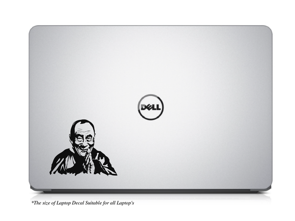 The Holiness of Dalai Lama Laptop/MacBook Decal