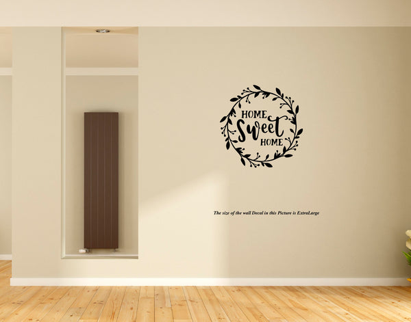 Home Sweet Home Wall Decal, wall decal