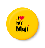 I Love My MAJI I Mothers Day Gift Fridge Magnet