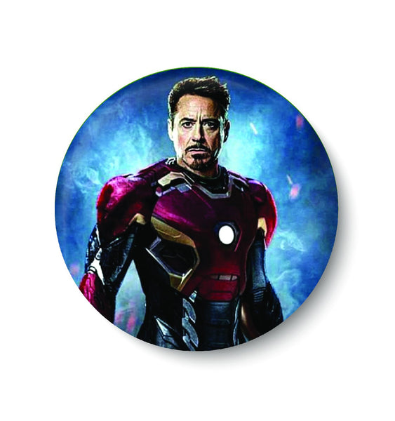 IRON MAN,AVENGERS,SUPER HERO,PIN BADGE