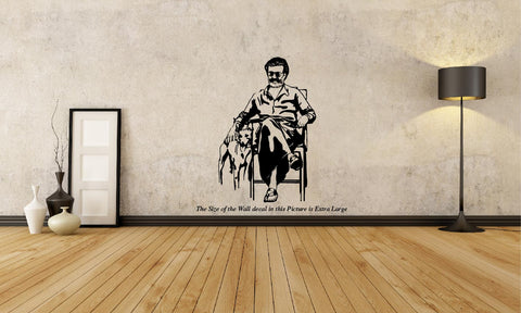 Kaala Rajinkanth-Thalaivar is Back Wall Decal