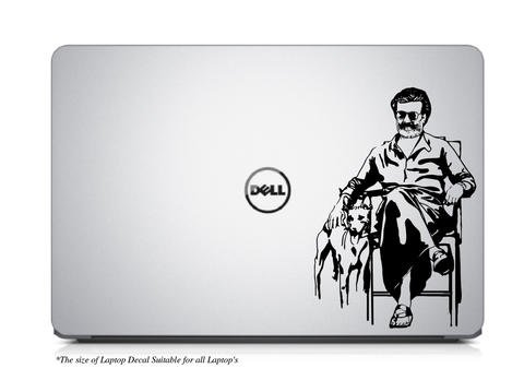 Kaala Rajinkanth-Thalaivar is Back Laptop/Mac Book Decal