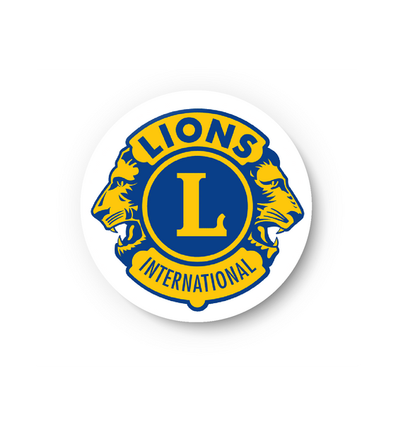 Lion's Club Pin Badge, Lion's Club