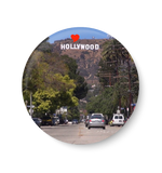 Love Hollywood , United States Series Fridge Magnet,Hollywood