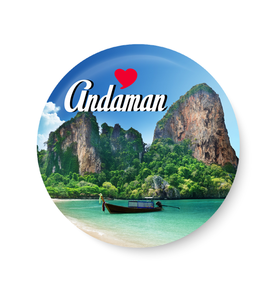 Love Andaman Fridge Magnet