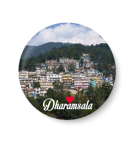 Love Dharamsala Fridge Magnet