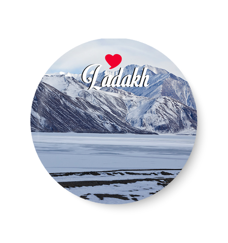 Love Ladakh Fridge Magnet