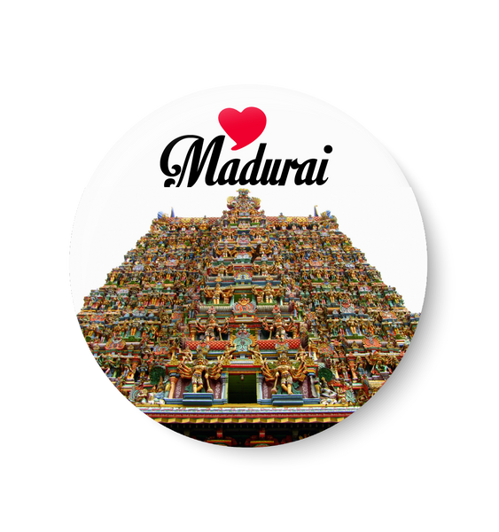 Love Madurai Fridge Magnet