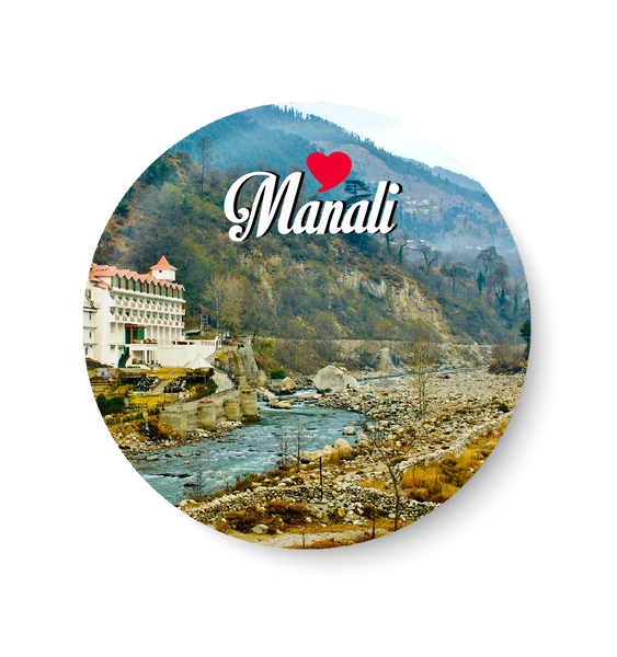 Love Manali Fridge Magnet