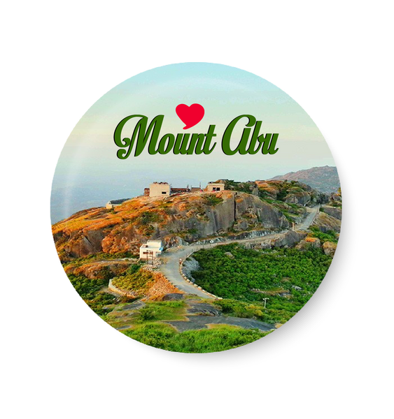 Love Mount Abu Fridge Magnet