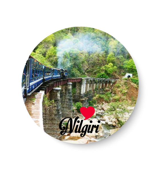 Love Nilgiri Fridge Magnet
