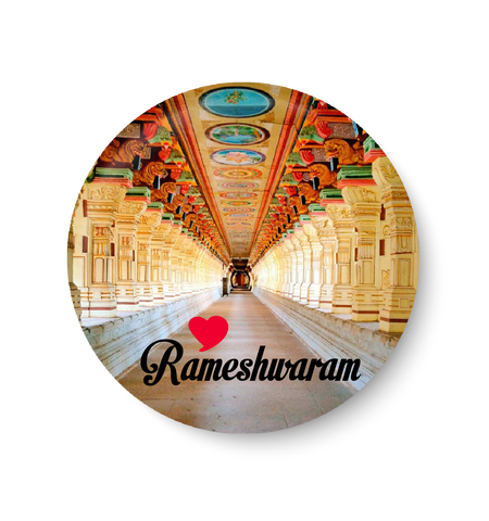 Love Rameshwaram Fridge Magnet