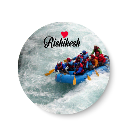 Love Rishikesh Fridge Magnet