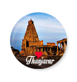 Love Thanjavur Fridge Magnet