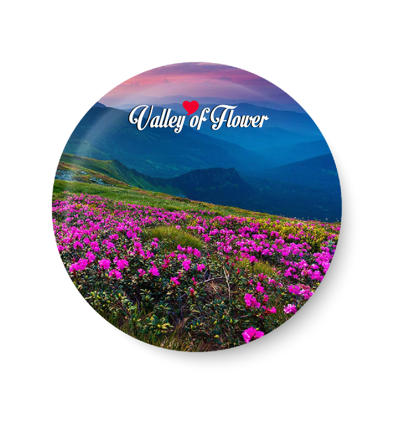 Love Valley Of Flower Fridge Magnet