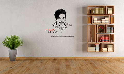Pawan Kalyan ,Pawan Kalyan  Sticker,Pawan Kalyan  Wall Sticker,Pawan Kalyan  Wall Decal,Pawan Kalyan  Decal