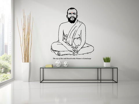 Sri Ramakrishna Paramahamsar Wall Decal,  Ramakrishna Paramahamsar,Wall Decal