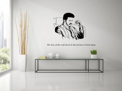 Thalapathy VIjay I SARKAR Wall Decal