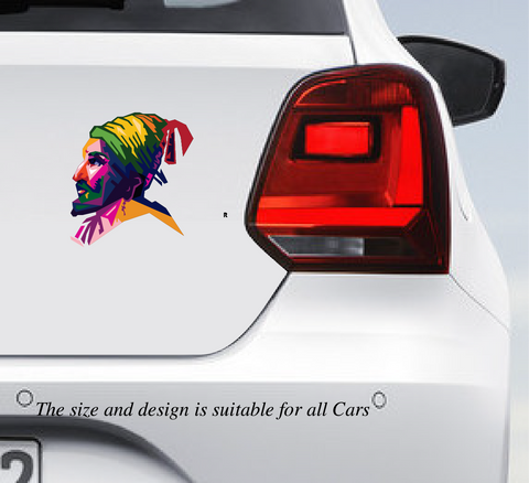 Shivaji Maharaj Car Vinyl Sticker