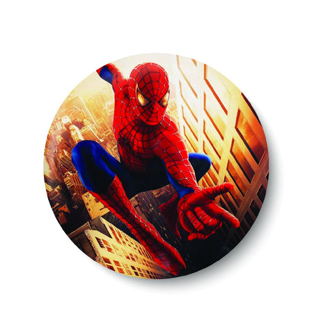 SPIDER MAN,AVENGERS,SUPER HERO,SPIDER HERO,PIN BADGE