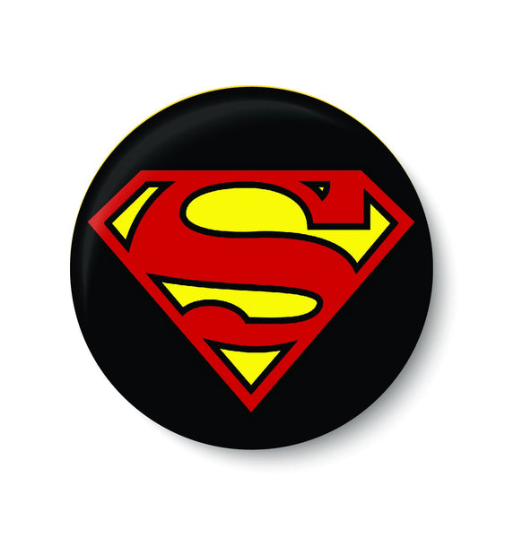 SUPERMAN,SUPER HERO,PINBADGE