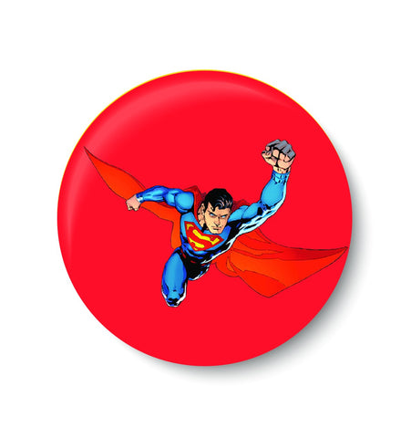 SUPERMAN PINBADGE,SUPER HERO PINBADGE,PIN BADGE