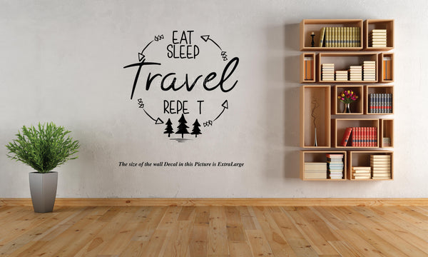 Travel Wall Decal, Travel, Adventure, Wall Decal