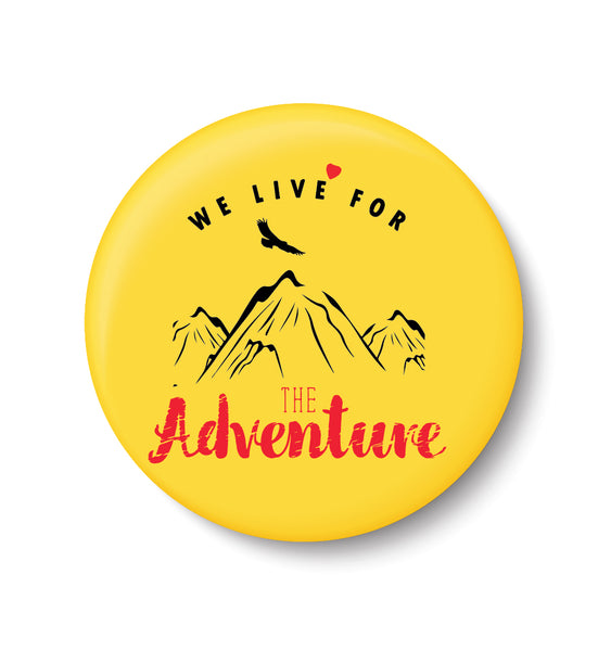 Pin Badge,Adventure , Souvenir ,Travel