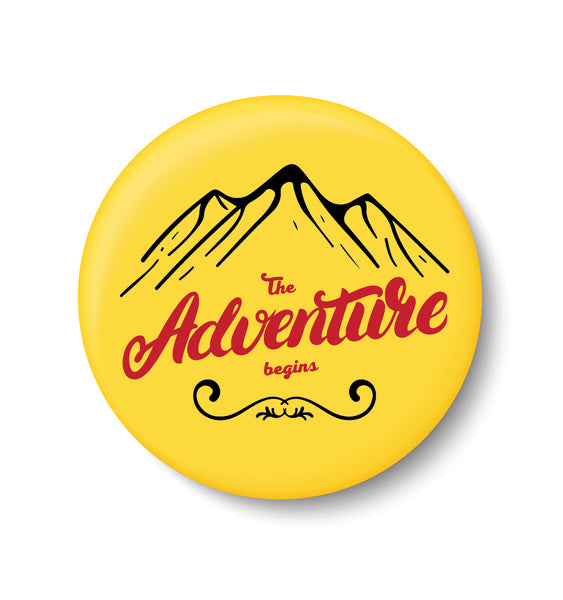 Adventure , Souvenir ,Travel , Fridge Magnet