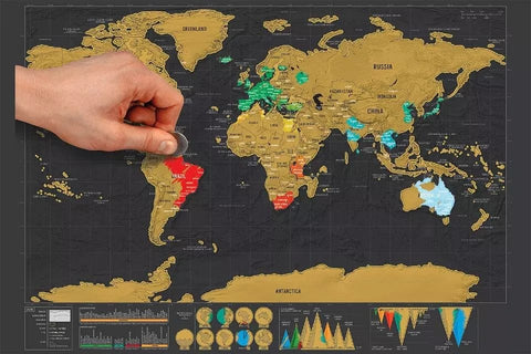 Scratch and go scratch up world map poster hobbies unleashed want to travel the world and remember all the places you visited we got you covered spice up your travel game with this fun and exciting tool you and your gumiabroncs Choice Image
