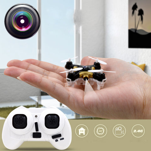 INTRODUCING The MicroDroneTM Smallest Quadcopter Camera Drone