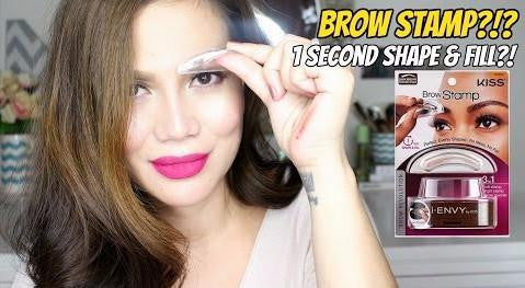 Whether You Have Thin Eyebrows Or Lost Your Due To Over Tweezing Alopecia Brow Envy Eyebrow Stamp Creates The Most Perfect