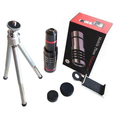 18x HD Zoom-X Optical Telephoto Lens with Tripod for ALL Mobile Phones:Hobbies Unleashed
