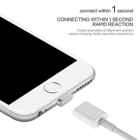 LightningCharge™ Magnetic Charging Cable for iPhone and Android:Hobbies Unleashed