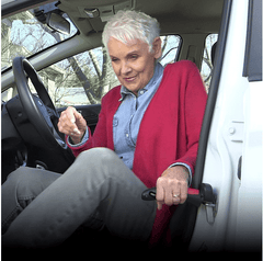 Car Cane 3-in-1 Auto Mobility & Standing Aid w Flashlight - As Seen on TV!:Hobbies Unleashed