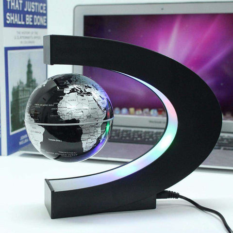 Tellurion Levitating Globe Table Lamp:Hobbies Unleashed