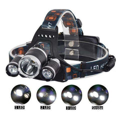 5000 Lumens 4-Mode CREE LED Head Lamp:Hobbies Unleashed