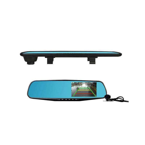 Dashsmart™ 2 in 1 Rear View Mirror Dashcam:Hobbies Unleashed