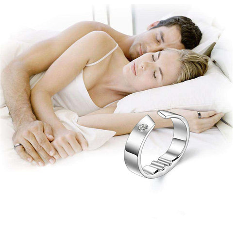 SnoreLess™ Acupressure Anti Snore Solution Ring:Hobbies Unleashed