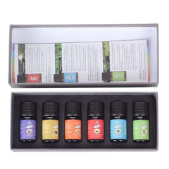 100% Pure 10ml Essential Oils Aromatherapy Gift Box Set