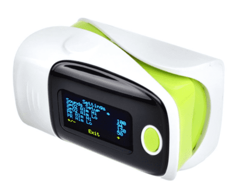 OxyPulse™ Digital Finger Pulse Oximeter with OLED display:Hobbies Unleashed