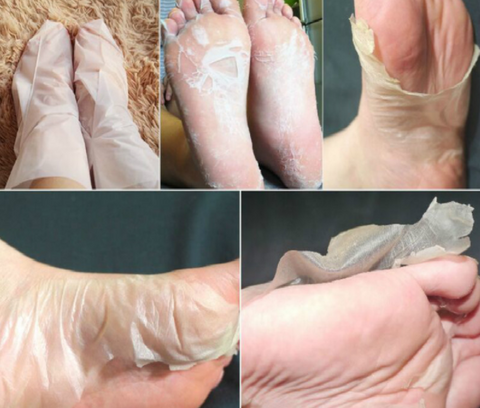 WonderPeel™ Exfoliating Pedicure Foot Socks:Hobbies Unleashed
