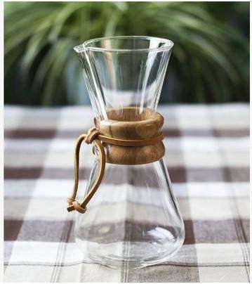 Classic Chemex Glass Coffee Maker:Hobbies Unleashed