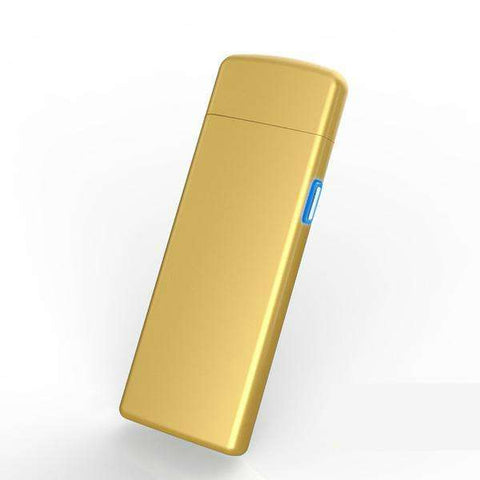 HeatEdge Ultra-thin Fingerprint Touch Rechargeable Lighter:Hobbies Unleashed