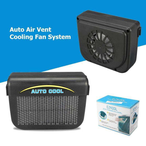 AutoCooler™ Solar Car Interior Ventilation Fan:Hobbies Unleashed
