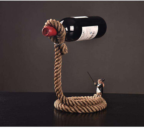 RopeMagic™ Magic Decorative Wine Holder:Hobbies Unleashed