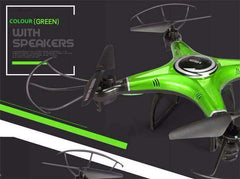 BeatMaker Drone™ Quadcopter Speaker Drone